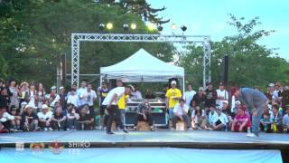 SNOW vs JAYGEE Semi Final_02 | Samurai 2016.07.03 | UGcrapht×Funky Stadium