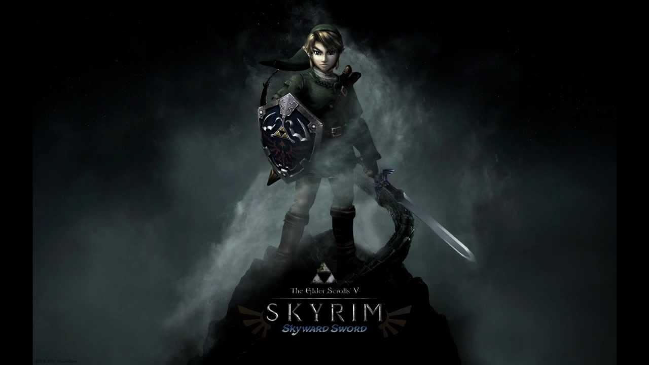 Skyrim The Legend Of Zelda Mod Youtube