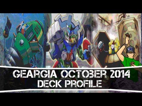 Yugioh Geargia Deck Profile October 2014 video