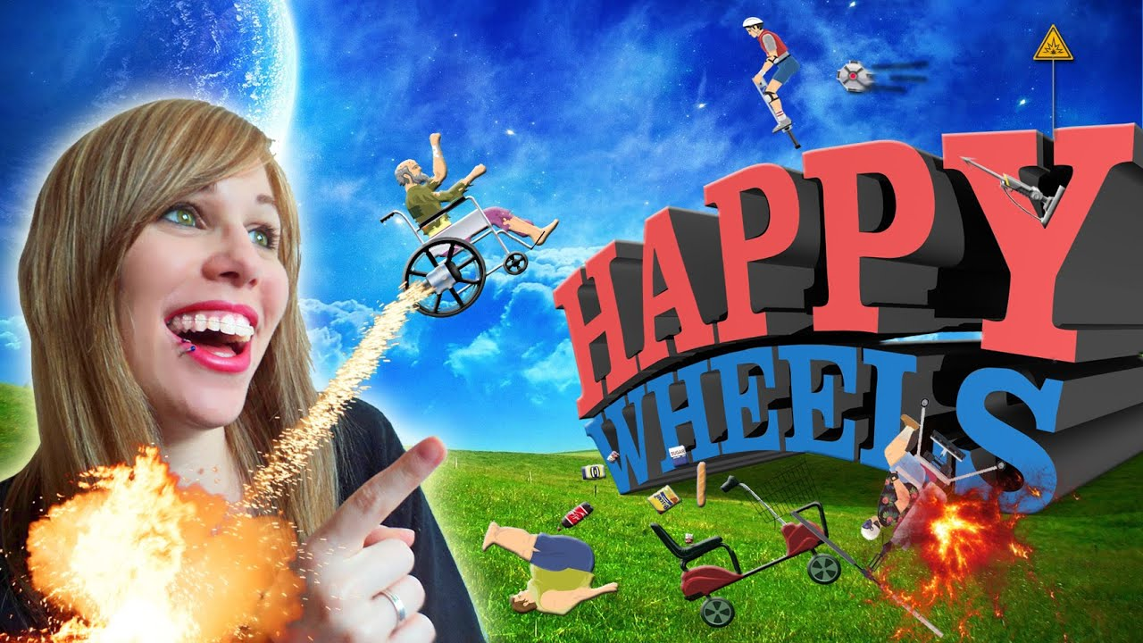happy wheels es
