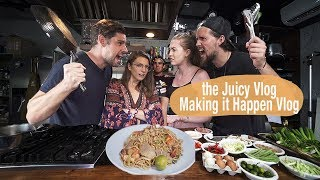 FOREIGNERS COOK FILIPINO FOOD  (The Juicy Vlog VS Making It Happen Vlog)