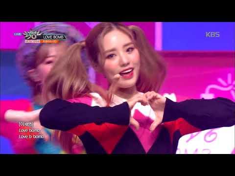 뮤직뱅크 Music Bank - LOVE BOMB  - 프로미스나인(fromis_9).20181012