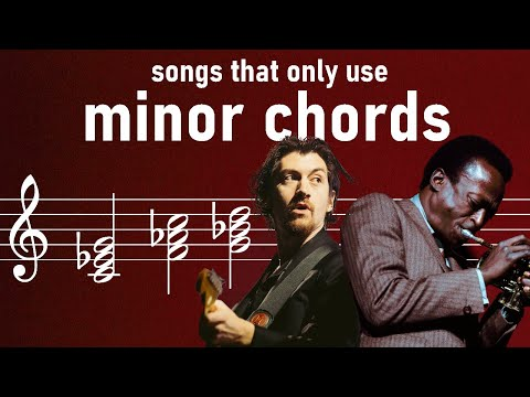 Why are Minor Chord Songs so rare?