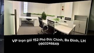 CHo thuê văn phòng trọn gói Ba Đình, giá 8,5 triệu cho phòng 6 người, Khu vực Cửa Bắc