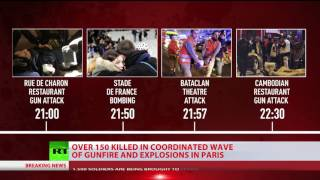 Paris Attacks TIMELINE: Suicide Bombers, Blasts, Shootouts