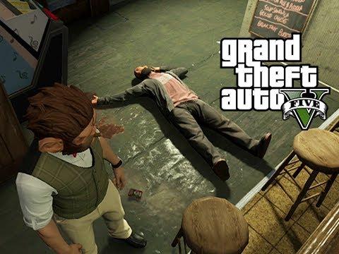 GTA 5 Online Wildcat's Mom, Wildcat's Girlfriend and Lui and Vanoss vs Bar Stool Guys