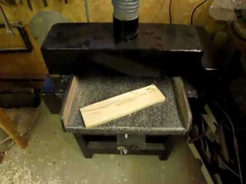 Thickness drum sander project part 2