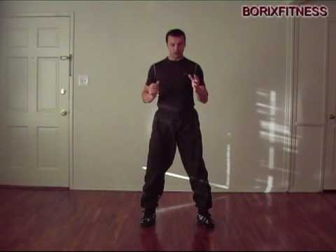 Free Kick Boxing lessons: Roundhouse kick basic beginners Image 1