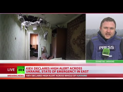 Kiev declares country wide 'high alert', 'State of emergency' in E. Ukraine