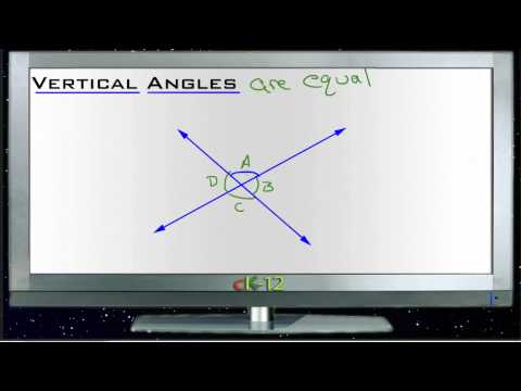 Vertical Angles Principles