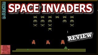 Space Invaders - on the Atari 2600 - with Commentary !!