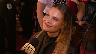Victoria's Secret Angel Behati Prinsloo Shares How Husband Adam Levine Is Her Hype Man (Exclusive)