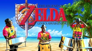 Relaxing jazzy cover -  Legend of Zelda main theme on steel drums. LIVE band.