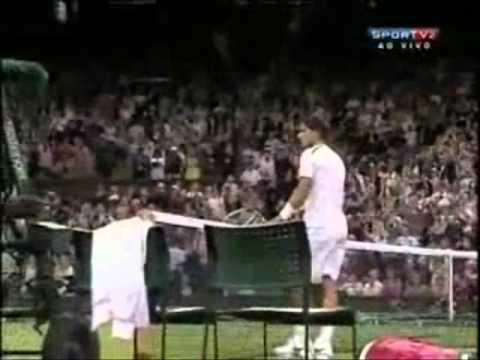 Rafael Nadal vs Lukáš Rosol  - Match Point.  - Wimbledon 2012.