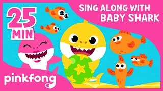 Adventure Sharks and more | Sing Along with Baby Shark | Compilation | Pinkfong! Songs for Children