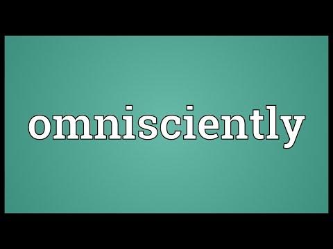 Header of omnisciently