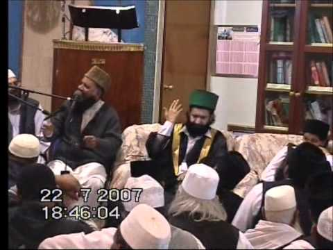 Main To Panjtan Ka Ghulam Hoon  By Syed Fasihuddin Soharwardi Sahib In Bradford 22-07-2007 video
