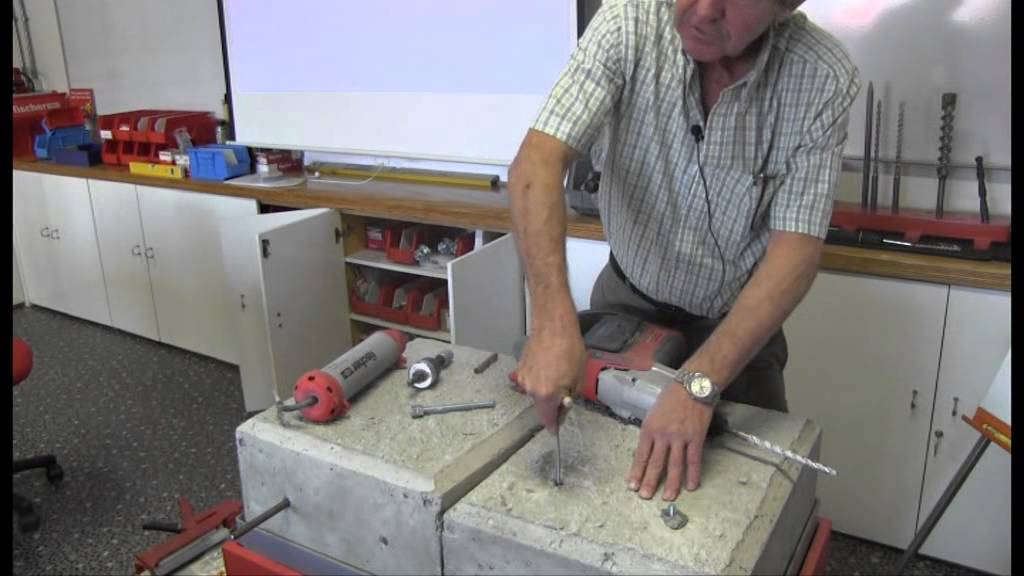 How To Install A Fischer Rm Resin Capsule Youtube