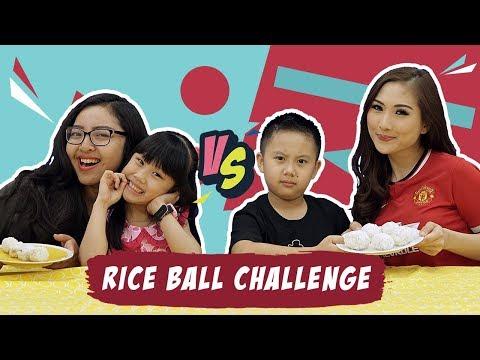 "Savira & Calista ""Kata Bocah"" VS Darrel & Puput  meracik ""Rice Ball Challenge"""