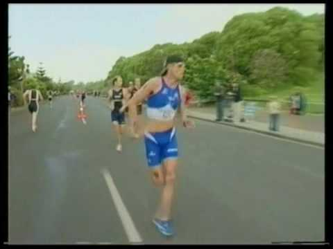 Bevan Docherty - Super-human Triathlon Sprint Finish