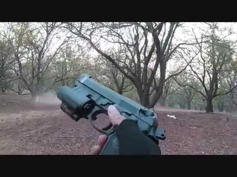 Beretta M9A1 Testing in Thailand