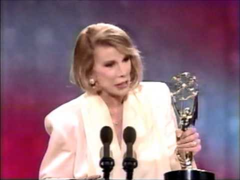 Joan Rivers 1990 Daytime Emmy Award Win
