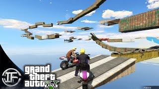 GTA V Online - LOCURA IMPOSIBLE CON MOTOS!! - Carreras con Subs #88 - Funny Moments GTA 5