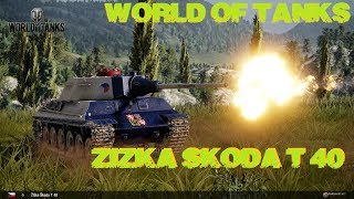 World of tanks xbox one- Žižka Škoda T 40!! (Mostrando  el tanquesito)