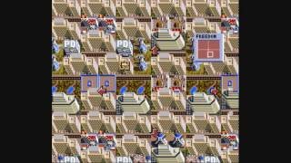 snes sim city one million people no stacking 1/2