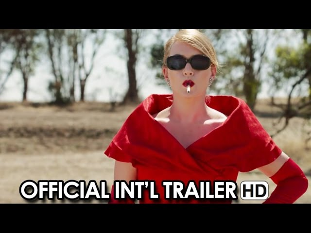 The Dressmaker Official International Trailer (2015) - Kate Winslet, Liam Hemsworth HD