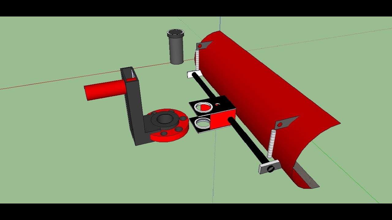 Лопата для мотоблока своими руками видео