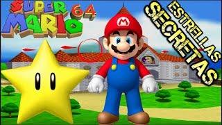 Super Mario 64 Estrellas Secretas Del Castillo