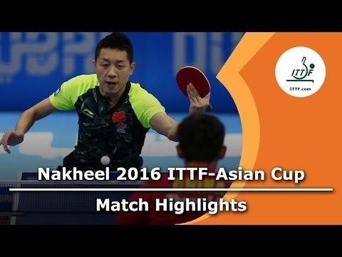 2016 Asian Cup Highlights: Zhang Jike vs Xu Xin (Final)