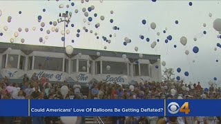 Could Americans' Love Of Balloons Be Getting Deflated?