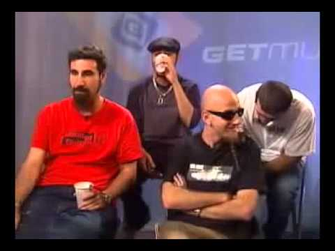 System of a Down A-List Interview (IN SYNC)