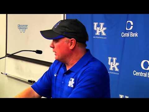 Kentucky Wildcats TV: Mark Stoops - Florida Postgame