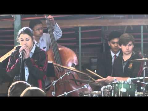 Pukekohe High School award winning  Band 2015