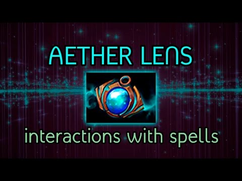 Aether Lens 6.86 with new Aghanim's and old skills