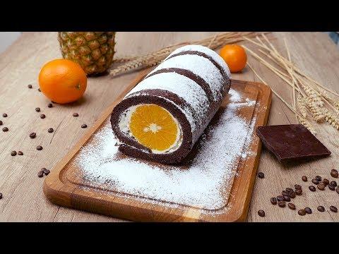 Рулет с апельсинами - Рецепты от Со Вкусом