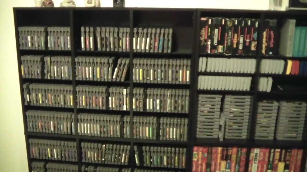 Classic Game Hunter Retro Video Game Storage Shelves