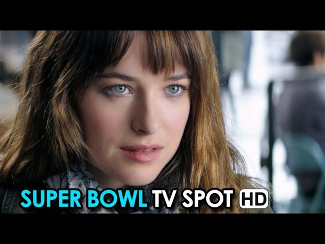 Fifty Shades of Grey Official Super Bowl Spot (2015) - Jamie Dornan, Dakota Johnson HD