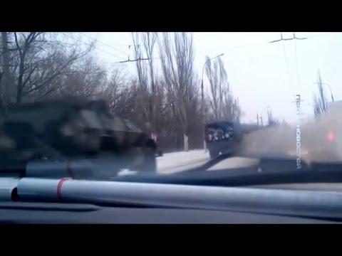 Ukraine War - Russian military equipment moves to Lugansk Ukraine