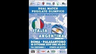 Dual Match: Italia vs Argentina