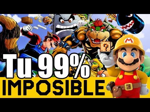 Me pasó un Epic Fail al Final denuevo! - 99% Imposible de Suscriptores#4 |Super Mario Maker| ZetaSSJ