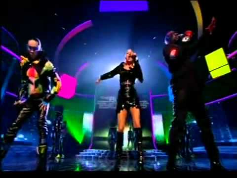 "The Black Eyed Peas  ""The Time"" - X Factor 2010 Live Semifinal Results Show 9"