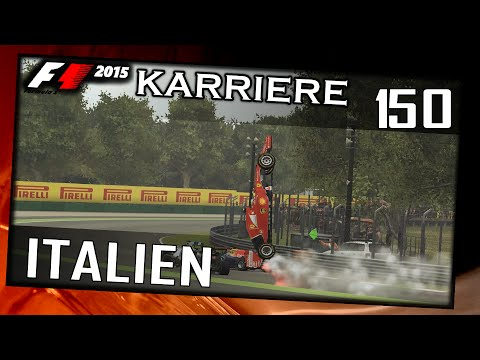 F1 2015/3. Saison #036/#150 Italien/Rennen[German|HD+|PC|WHEEL CAM|TV CAM] Legende 100%