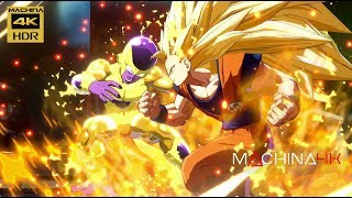 DRAGON BALL FIGHTERZ 4K 60FPS GAMEPLAY Con OST DBZ ORIGINAL