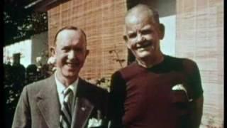 Stan Laurel & Oliver Hardy in 1956