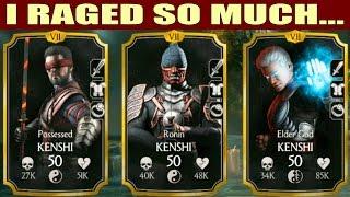 KENSHI TEAM. Can it beat FATAL BATTLE? Mortal Kombat X Mobile.