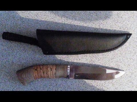 Нож Вихрь от компании Русский нож (г. Ворсма)